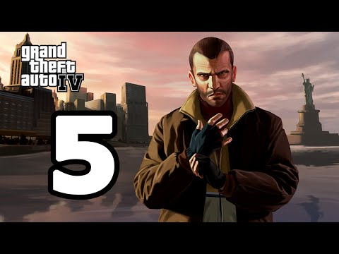 Grand Theft Auto IV Walkthrough Part 5 - No Commentary Playthrough (PC)