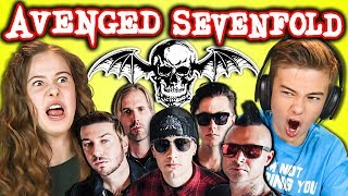 Video KIDS REACT TO AVENGED SEVENFOLD (Metal Band) MP3, 3GP, MP4, WEBM, AVI, FLV Oktober 2018