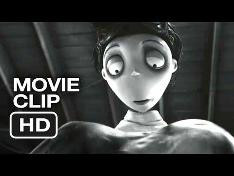 Frankenweenie Movie CLIP - You're Alive (2012) - Tim Burton Animated Movie HD