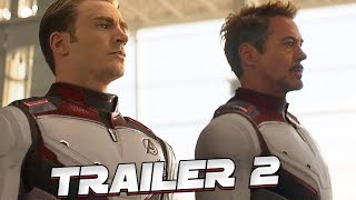 VINGADORES 4 ULTIMATO SEGUNDO TRAILER