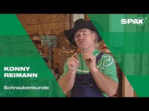 Konny Reimann: SPAX Schraubenkunde