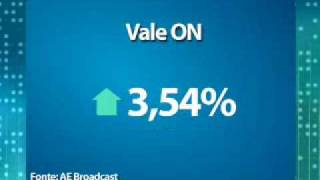Os investidores intensificaram as compras após a notícia de que a Vale teria adotado um novo sistema de precificação do minério de ferro, que resultaria num reajuste de até 114%.