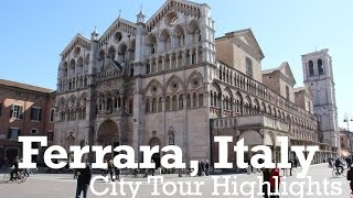 Ferrara Italy  city pictures gallery : Ferrara Italy City Highlights Vlog