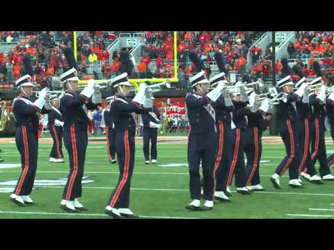 Marching Illini Halftime Classic Movie Blockbusters October 3 2015