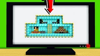 HOW TO MAKE A SECRET ROOM IN A TV!