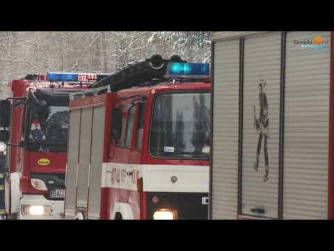 Pożar hotelu Laguna w Augustowie