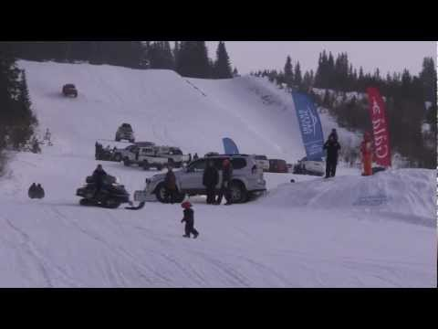 Arctic Trucks event i alpinbakken på Gålå - 2013