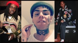 PLEASE DISS ME BACK! Tekashi 69 Calls Out YG & Chief Keef For Being Fake Rappers In Real Life