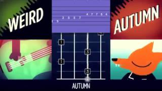 An instrumental cover version of the song 'Weird Autumn' from the game 'Night In The Woods'. Includes bass tablature.Tablature is specifically for a 6 string bass though is easily transposed an octave higher for use on a regular 4 string.Tuning is standard BEADGB.If you use either the audio or tab for your own rendition, please make sure to credit both myself and the original composer Alec Holowka in your own video! Thank-you! :)All instruments played by myself (@ShinKCT)Tablature is also scribed by myself (@ShinKCT)Original composition is (c) Alec Holowka (@infinite_ammo)Ending artwork is (c) Bruno Moraes (@brunopixels)