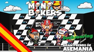¿Dos ruedas? ¡Doble emocion! Los MiniBikers han vuelto con su octava temporada y te traen los mejores momentos de las carreras de MotoGP. Disfruta de la mejor batalla por la lucha por el campeonato del mundo con el toque único de los Minis.MotoGP se toma unas más que merecidas vacaciones de verano tras un Gran Premio de Alemania ganado por Marc Marquez. El español ha logrado ajustar un poco más el campeonato del mundo aunque la mayor sorpresa fue Jonas Folger, el ídolo local que pudo liderar varias vueltas y lograr su primer podio en MotoGP. Descubre los secretos del GP de Alemania en Sachsenring con tus personajes favoritos y disfruta del relax de las vacaciones como lo hacen nuestros pilotos.- - - - - - - - - - - - - - - - - - - - - - - - -- - - MOTORSPORT.COM  - - - - - - - - - - - - - - - - - - - - - - - - - - - - -Todas las novedades del motor en la web del patrocinador oficial de los MiniDrivers, Motorsport.com. Síguelos en su página web, twitter o Facebook. WEB: http://www.es.motorsport.comTWITTER: https://twitter.com/es_MotorsportFACEBOOK: https://www.facebook.com/motorsportcom.espana/- - - - - - - - - - - - - - - - -- - - SÍGUENOS  - - - - - - - - - - - - - - - - - - - - -FACEBOOKMiniDrivers - F1: https://www.facebook.com/officialminidrivers/MiniBikers - MotoGP: https://www.facebook.com/officialminibikersMinEDrivers - Formula E : https://www.facebook.com/officialminedriversMindyDrivers - Indycar: https://www.facebook.com/mindydrivers/TWITTEREnglish: https://twitter.com/officialminisEspañol:https://twitter.com/officialminisESTELEGRAMChannel: https://telegram.me/officialminisGroup: https://telegram.me/officialministelegram- - - - - - - - - - - - - - - - - - - - VIDEOGAME - - -- - - - - - - - - - - - - - - - - MINIDRIVERS - VIDEOGAMEiOS: https://itunes.apple.com/app/id873538439?mt=8Android: https://play.google.com/store/apps/details?id=com.minidrivers.formula1.comOSX: https://itunes.apple.com/us/app/minidrivers-game-mini-racing/id994431876?mt=12Steam: http://store.steampowered.com/app/385490/MINIBIKERS - VIDEOGAMEiOS: https://itunes.apple.com/app/id1015922561?mt=8Android: https://play.google.com/store/apps/details?id=com.miniBikers.bikesOSX: https://itunes.apple.com/app/id1022820730?mt=12Steam: http://store.steampowered.com/app/416350/