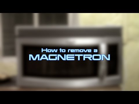 How to remove a Magnetron –  Whirlpool GE Microwave Oven