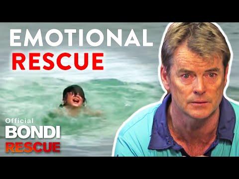 這個在海裡溺水的小女孩大喊都沒人聽到,以為真的會死去時…一股力量及時出現!