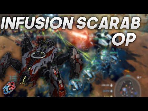 Laughing in Infusion Scarabs - Halo Wars 2