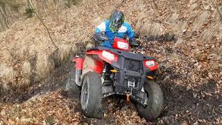 5. Having fun with Polaris Sportsman 570