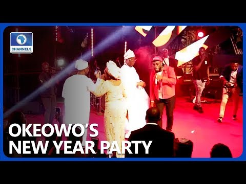 Burna Boy, Zlatan, Others Perform As Okeowo Hosts 2020 New Year Party