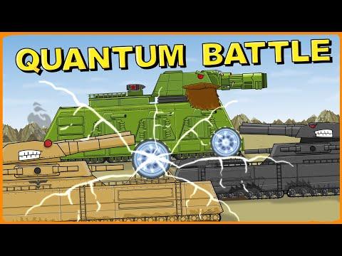 """Battle of Quantum Technologies"" Cartoons about tanks"