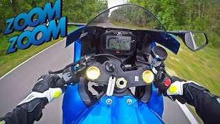 3. 2017 Suzuki GSXR1000 Test Ride + Wheelies
