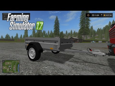 Brenderup 1-axle trailer v1.0