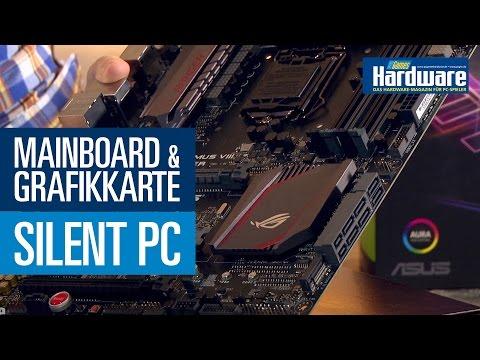 PCGH Silent PC - Mainboard & Grafikkarte vorgestellt