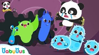 Video Big Germs are Making a Mess in Baby Panda's Body | Good Habits Song | Kids Safety Tips | BabyBus MP3, 3GP, MP4, WEBM, AVI, FLV Juli 2019