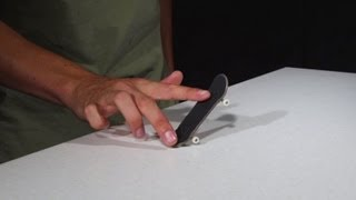 How To Pop Shove-It A Fingerboard