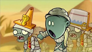 Plants Vs Zombies Animation Jay And Silent Bob PVZ 2 Primal And Newspaper Zombie Gameplay