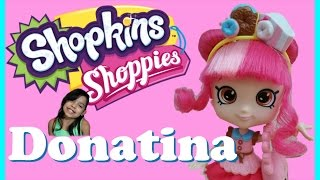 Hello my princesses come and watch my video where the gals welcome a new friend Donatina! She comes with Donuts Delight's cart, 2 Season 4 exclusives, 4 baby mini exclusive donuts, a VIP card for app game, brush, and cute bag!Expect to watch more of Disney Frozen (Frozen Fever), Princesses, Littlest Pet Shop LPS, Shopkins, Inside Out, mermaids, My Little Pony MLP, Lego, Barbie dolls, Play Doh, Squinkies, Build A Bear and much muchy more!!! Everything form stories, series, movies, playset toy reviews, hauls, mystery surprise blind bag openingsHello Princesses today Jessicake has a secret admirer  :)  Jessicake is opening her special surprise that comes with 6 exclusive Shopkins .This box includes exclusives repaints from Season 1, Season 3, and Season 4. Well please enjoy this video! I will posting more great videos!! Stay tune to see if Jessicake will find out her secret admirer ;) I hope you enjoy this video !~~~~~~~~~Follow me on~~~~~~~~~~~Facebook: https://www.facebook.com/pages/Fairly...Instagram:https://instagram.com/fairlyevi/Twitter:https://twitter.com/fairlyevi~~~~~~~~~~~~~~~~~~~~~~~~~~Thank you princesses for watching ❤️Remember Dreams do Come True!!_________Videos you will like ___________New Shopkins Go Shopping Card Game by Moose Toys Review https://www.youtube.com/watch?v=K1q-nzx4X5EShopkins Season 3 Food Fair Playset Sweet Treats Exclusive Shopkins Cupcake Collection Playset https://www.youtube.com/watch?v=oCueJtmu-18Opening Shopkins Cool Casual Collection Playset Season 3 Fashion Spree https://www.youtube.com/watch?v=4ATzWnnhreQOpening Shopkins trading cards Deluxe Packs Bullsitoy https://www.youtube.com/watch?v=AHRCwV_GcJ0Shopkins Season 3 Playset Ballet Collection Fashion Spree w/ Exclusive Piano Music Box Toy Unboxing https://www.youtube.com/watch?v=hb8JFrCLCYIShopkins Stacking Challenge!! https://www.youtube.com/watch?v=vvFQZd72neYShopkins Season 3 Mega 20 Pack Opening! https://www.youtube.com/watch?v=BPHCncnueyEALL NEW SHOPKINS - COLLECTOR TRADIN