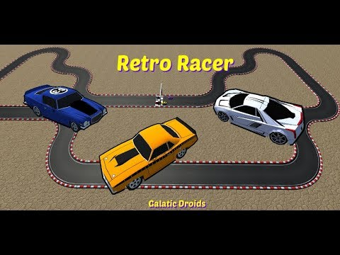 Retro Racer, classic arcade game for your mobile free.