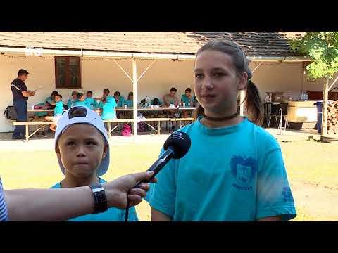 Katasztrófavédelmi tábort szerveztek Mártélyon