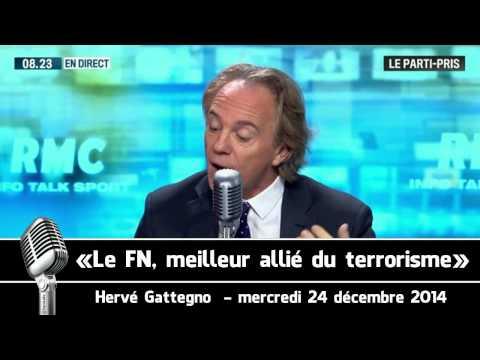 Hervé Gattegno : «Le FN, meilleur allié du terrorisme» (MàJ)
