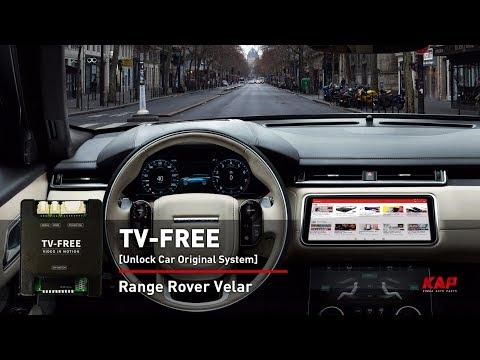 TV FREE - RANGE ROVER VELAR 2018 (VIM)