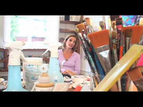 Beatriz Milhazes c/ Helena Lara Resende/ TV Imaginária, 1