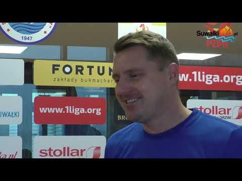 Ariel Jakubowski, trener Wigier, liczy na wyeliminowanie Rakowa i wygraną z Odrą
