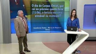 """Bom Dia Paraíba – Quadro """"Eu Quero Saber"""" – 13.06.2017"""