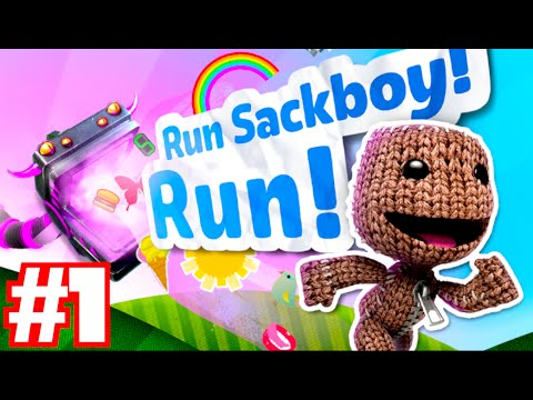 RUN SACKBOY! RUN! - Walkthrough Part 1 (LittleBigPlanet IPhone Game)