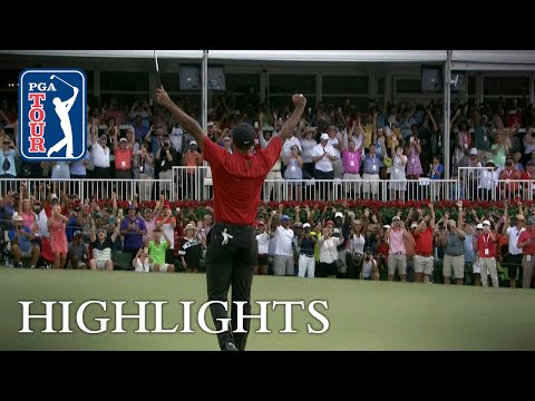 Tiger Woods wins TOUR Champion …