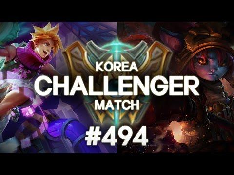 韓服精英大戰 #494 - Ace, Mimic, QN9, Cheol2