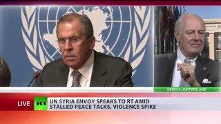 Спецпосланник ООН по Сирии отвечает на вопросы RT