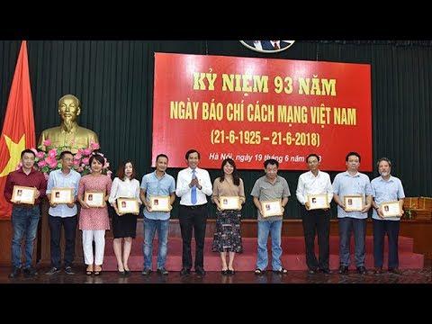 Báo Nhân Dân kỷ niệm 93 năm Ngày Báo chí cách mạng Việt Nam