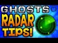 GHOSTS Multiplayer - RADAR TOP TIPS! Locate Enemies Better! - (Call of Duty: Ghost Gameplay)