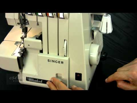 Overview - Singer Serger (Overlock) Sewing Machine (FREE SAMPLE)