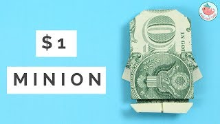 Here's a money origami tutorial for an origami minion! This cute origami money project only requires one dollar and does not damage the money in any way. You can take the origami minion apart and use the dollar as you normally would. Origami Money Minion inspired by the money origami minion by Ryan Dong. Reinterpreted with permission. http://www.instagram.com/xincandongMore Dollar Origami Tutorials:https://www.youtube.com/playlist?list=PLUistU9g4l7QeCg7i3inu0ZHxHTKqNKza RECOMMENDED AMAZON ADS: Minion Goggles: http://amzn.to/2tp0g2W Minion Hat: http://amzn.to/2tp017J------ABOUT: Hello my crafty friends! I'm Jenny, from NYC, and I LOVE to craft. I've created hundreds of paper craft and origami tutorials, do-it-yourself (DIY) crafting tutorials, and general craft tutorials, so be sure to subscribe and check back frequently. :-)INSTAGRAM: https://Instagram.com/OrigamiTree/FACEBOOK: https://www.Facebook.com/OrigamiTreeSNAPCHAT: https://www.snapchat.com/add/OrigamiTreeTWITTER: https://Twitter.com/OrigamiTreePINTEREST: http://www.Pinterest.com/OrigamiTreeWEBSITE: http://www.OrigamiTree.comShare your crafts in the Fan Gallery (bit.ly/OTFanGallery), or on social media with #OrigamiTree. You may also visit OrigamiTree.com, for free craft tutorials, demos, printable origami paper, and more!Business Inquiries: JennyOrigamiTree@gmail.com