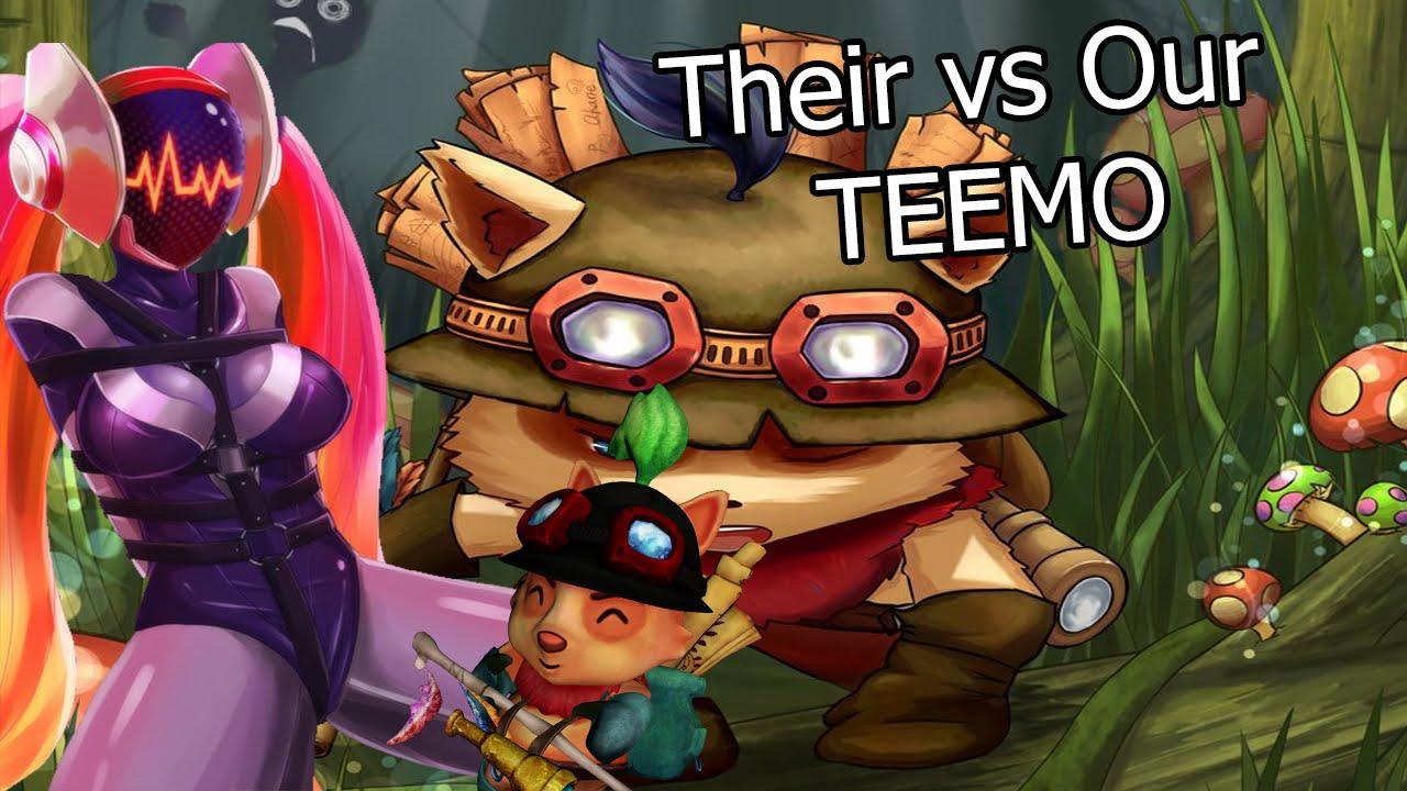 Liên Minh Huyền Thoại: Teemo team địch vs Teemo team mình