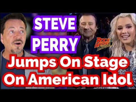 Steve Perry Takes The Stage On American Idol Surprising Gabby Barrett
