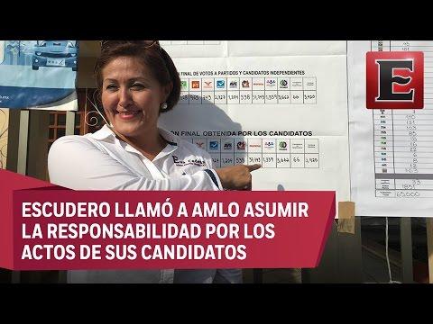 Senadores piden investigar los 500 mil pesos que recibió Eva Cadena