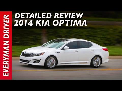 2014 Kia Optima SX Turbo DETAILED review on Everyman Driver
