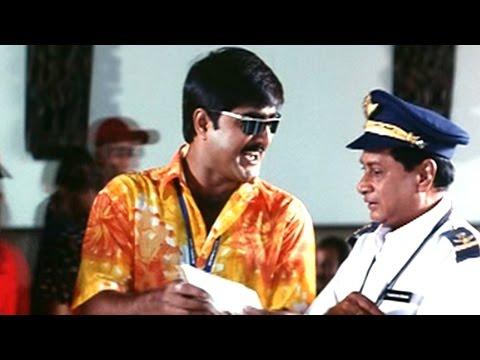 Oka Radha Iddaru Krishnula Pelli Movie    Srikanth & M. S. Narayana Floos Melkote Comedy Scene