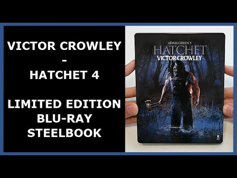VICTOR CROWLEY - HATCHET 4 - LIMITED BLU-RAY STEELBOOK UNBOXING