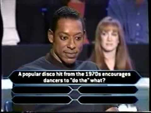 1/2 Orlando Jones on Millionaire (comedy edition)