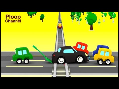 Cartoon Cars - RAILWAY DISASTER - Cartoons for Children - Childrens Animation Videos for kids